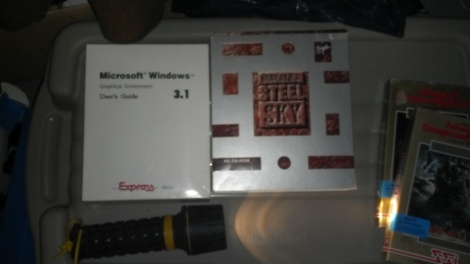 Boxed copies of Windows 3.1