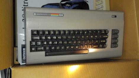 A classic beige C64