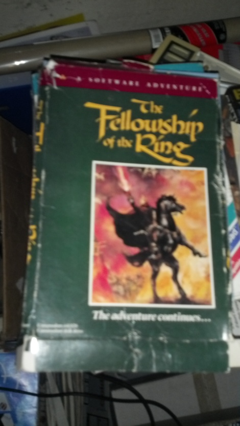 A boxed copy of Fellowship of the Ring